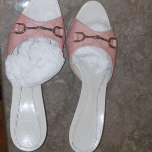 Guccissima Horsebit Sandals